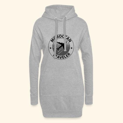 Moroccan Traveler - Sweat-shirt à capuche long Femme