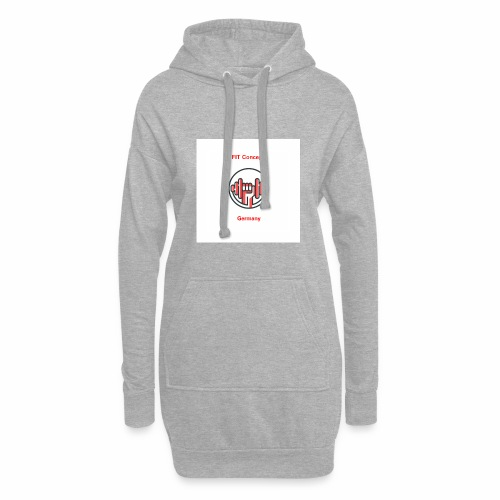 FIT Concept Germany Logo+Beschriftung - Hoodie-Kleid