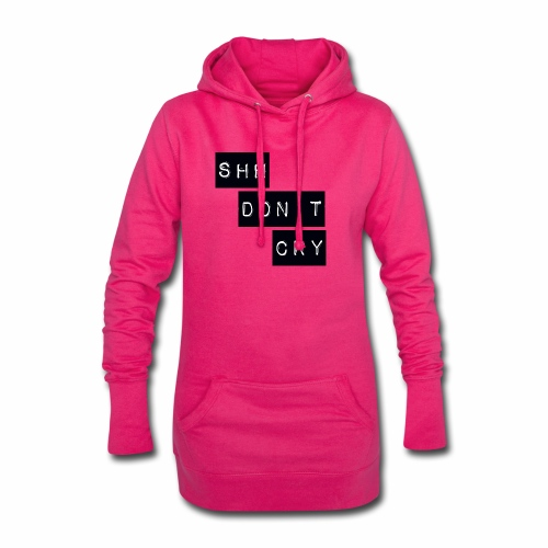Shh dont cry - Hoodie Dress