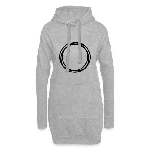 Circles and circles - Hoodie Dress