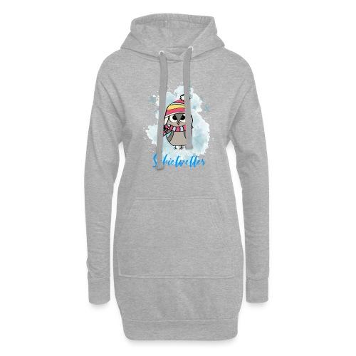 Schietwetter Design - Hoodie-Kleid