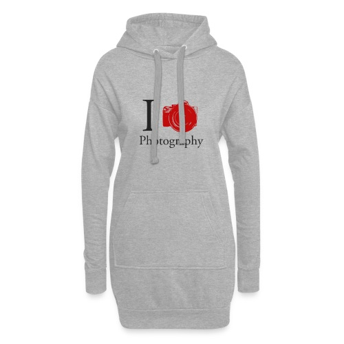 I Love Photography Collection - Hoodie-Kleid