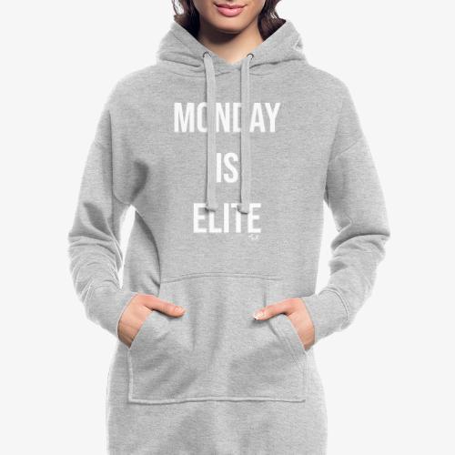 monday is elite - Vestitino con cappuccio