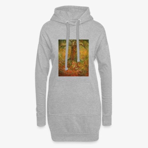 Invisible Tree - Długa bluza z kapturem