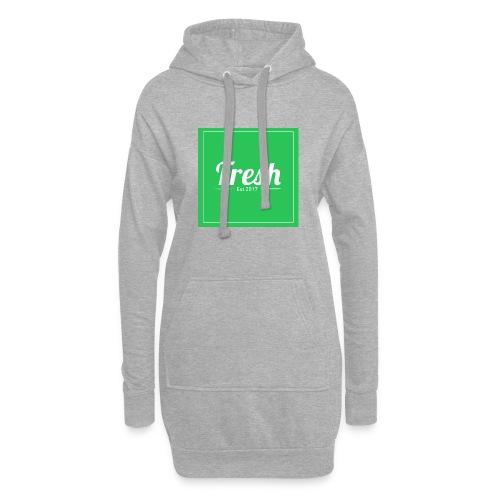 Green square - Hoodie Dress