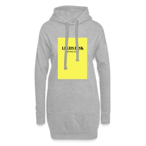 leeds risk - Hoodie Dress