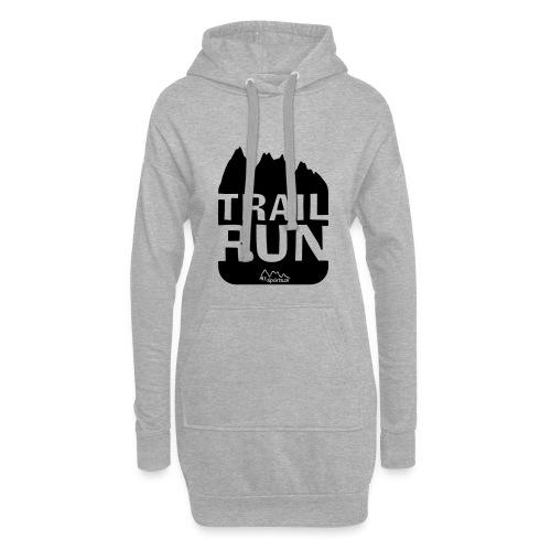 Trail Run - Hoodie-Kleid