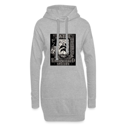 fatal charm - endangered species - Hoodie Dress