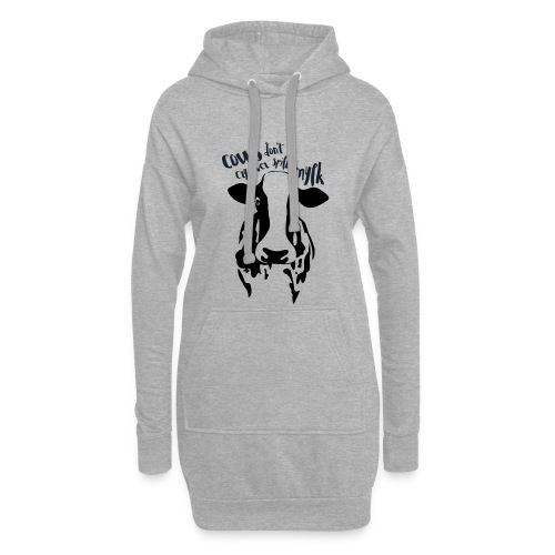 Cows don't cry over spilt mylk - Hoodie Dress