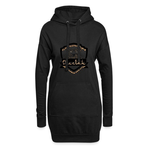 Cheetah Shield - Hoodie Dress