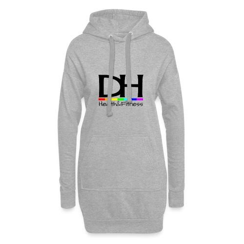 DH Health&Fitness Large logo - Hoodie Dress