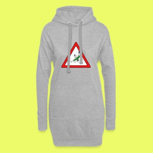 Kajak Unfall im Dreieck - Hoodie-Kleid