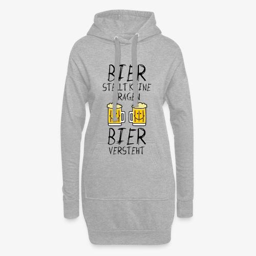 Bier versteht ! - Hoodie-Kleid