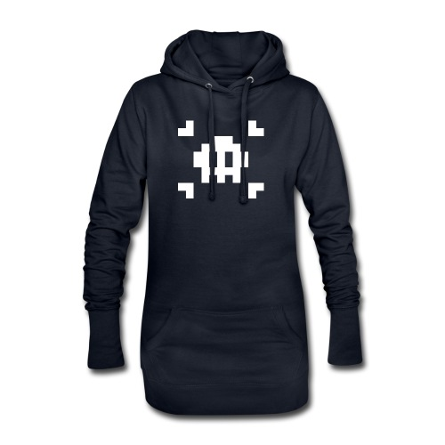 Mug Pixel Skull - Sweat-shirt à capuche long Femme