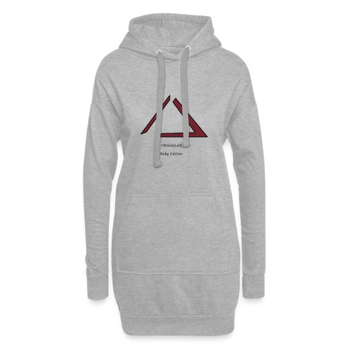 Triangler Ruby édition , Première édition - Sweat-shirt à capuche long Femme