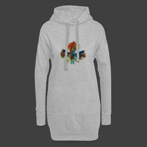 Mayas bird - Hoodie Dress