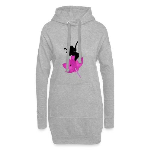 Jump life - Sudadera vestido con capucha