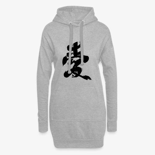 Japanese Kanji - Vestitino con cappuccio