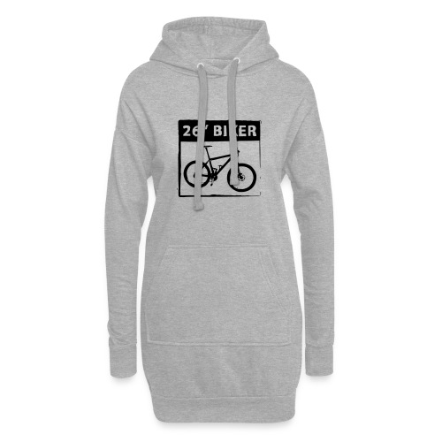 26 Biker - 1 Color - Hoodie-Kleid