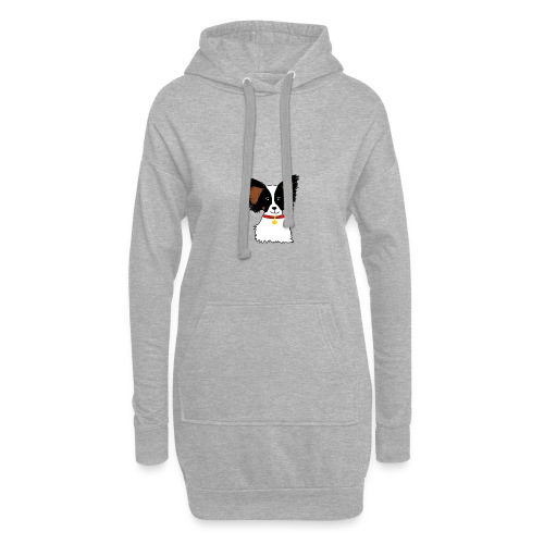 Papillon dog - Hoodie Dress