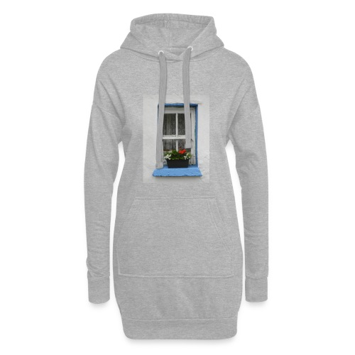 Cashed Cottage Window - Hoodie Dress