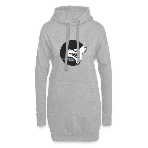 Lunaria_Logo tete pleine - Sweat-shirt à capuche long Femme