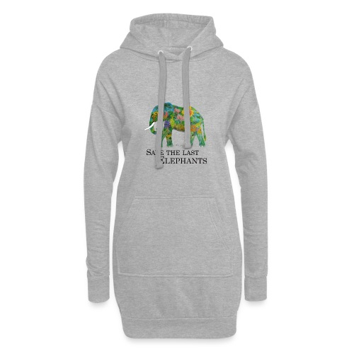 Save The Last Elephants - Hoodie-Kleid