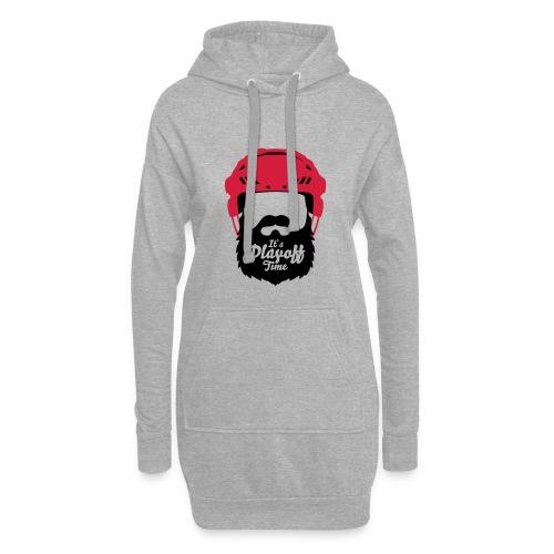 Eishockey Playoff Bart - Hockey Beard Helmet 1 - Hoodie-Kleid