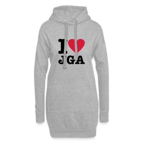 I love JGA - Hoodie-Kleid