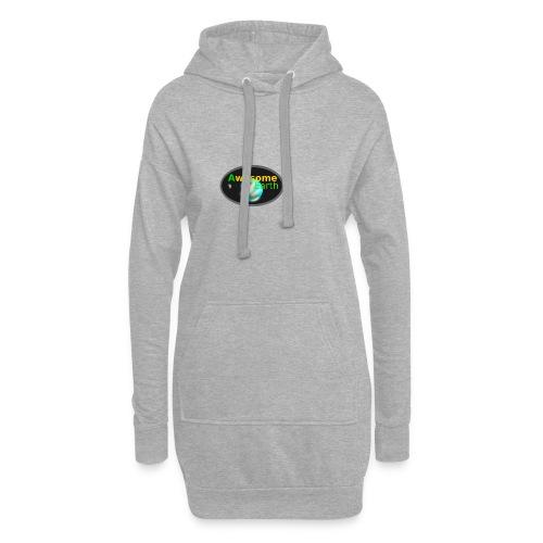 awesome earth - Hoodie Dress