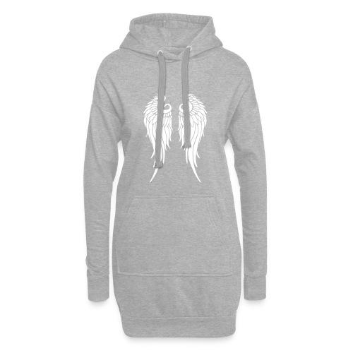 whitewings-ai - Hoodie Dress