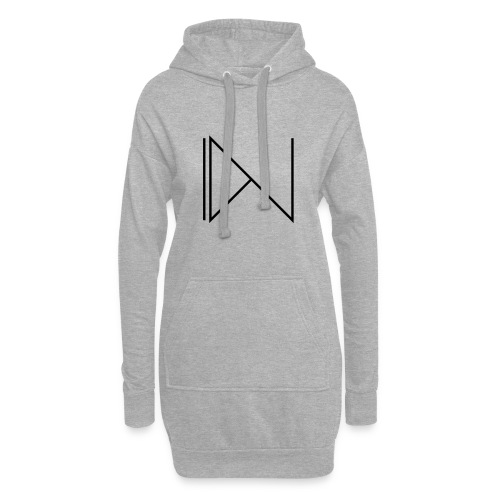 Icon on sleeve - Hoodiejurk