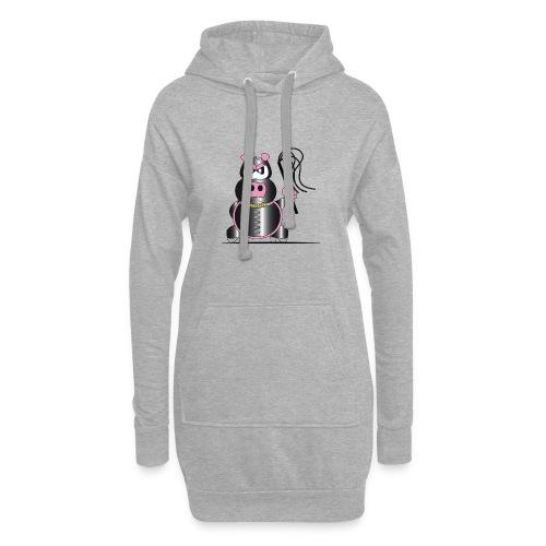 Schweinchen Sado - Hoodie-Kleid