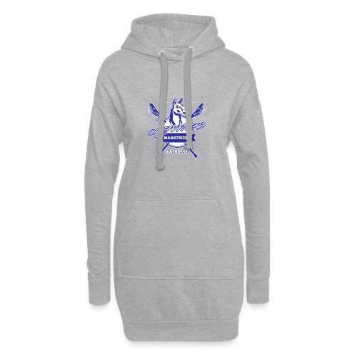 Llamas - Maastricht Lacrosse - Blauw - Hoodiejurk
