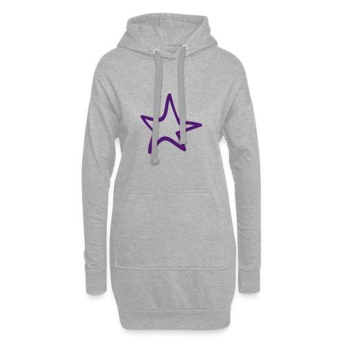 Star Outline Pixellamb - Hoodie-Kleid