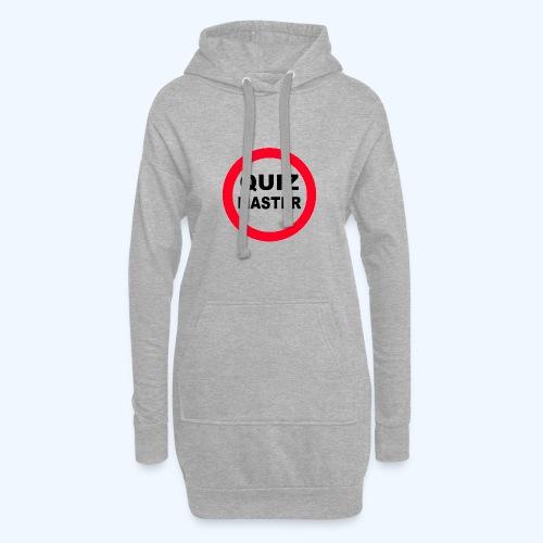 Quiz Master Stop Sign - Hoodie Dress