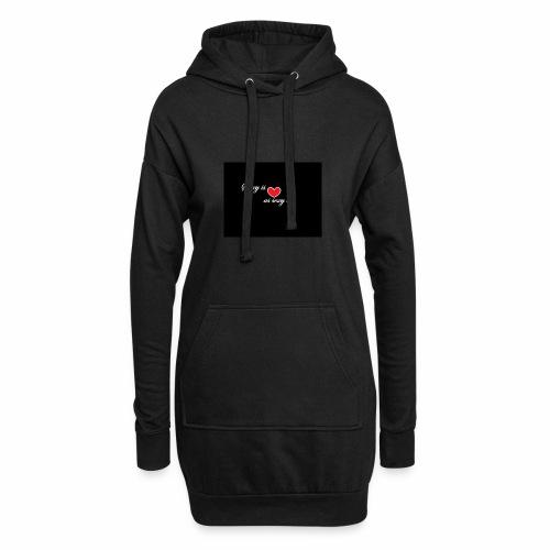 LoveYourselfTheMost - Hoodie Dress