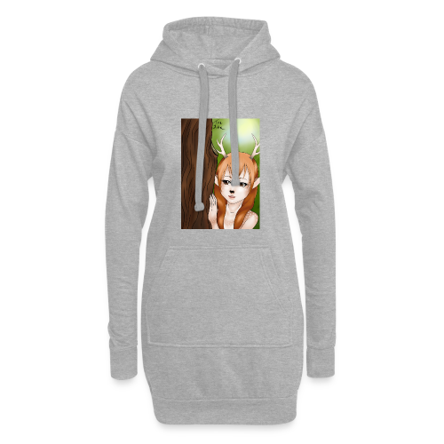 Sam sung s6:Deer-girl design by Tina Ditte - Hoodie Dress