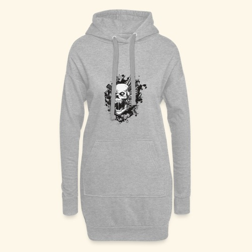 Suffering Skull - Hoodie Dress