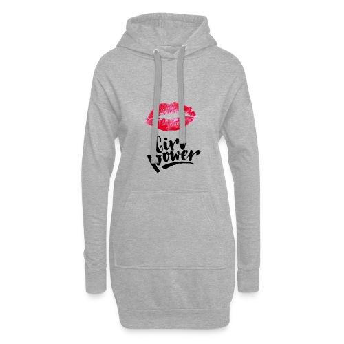 Girl Power - Sweat-shirt à capuche long Femme