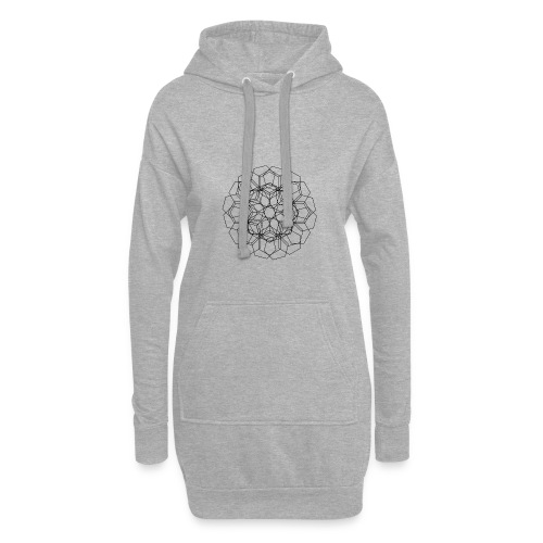 Blomstermix - Hoodie-kjole