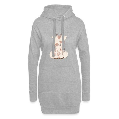 Giraffe - Hoodie-Kleid