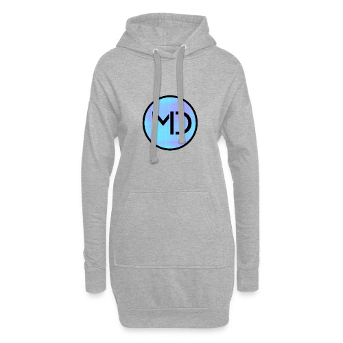 MD Blue Fibre Trans - Hoodie Dress