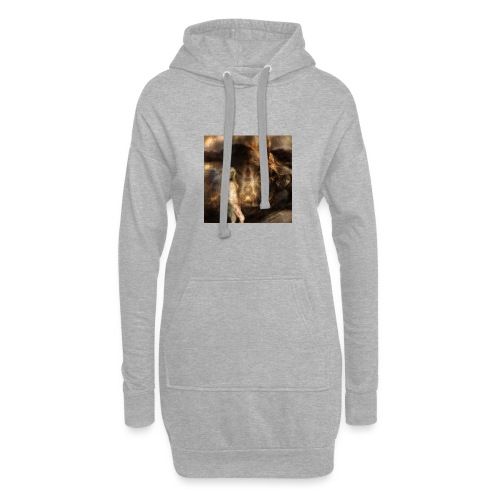the way of digital renaissances - Hoodie-Kleid