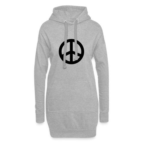 Peace - Hoodie-Kleid
