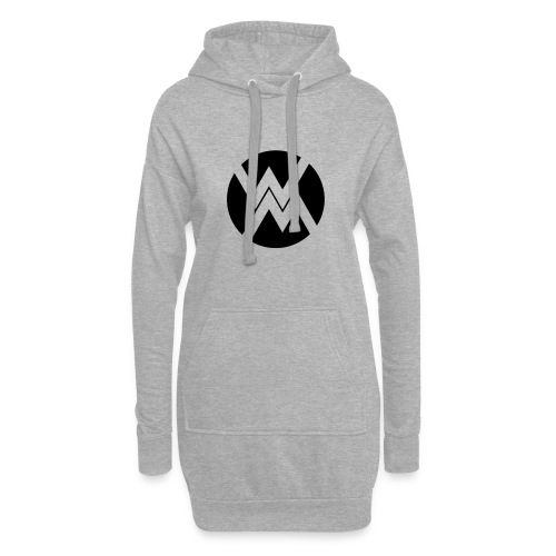 logo WM - Sweat-shirt à capuche long Femme