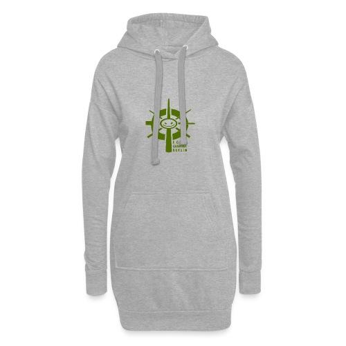 Echochamber Logo grün - Hoodie-Kleid
