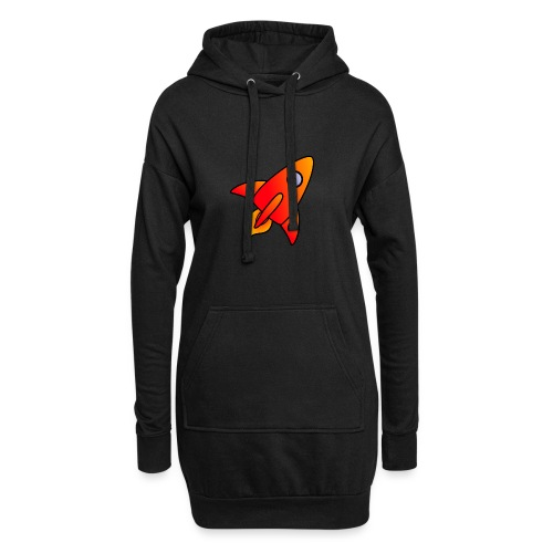 Red Rocket - Hoodie Dress
