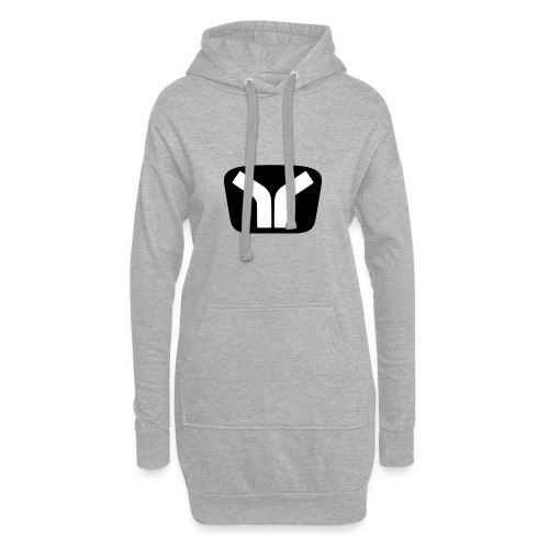 Yugo Logo Black-White Design - Hoodie Dress