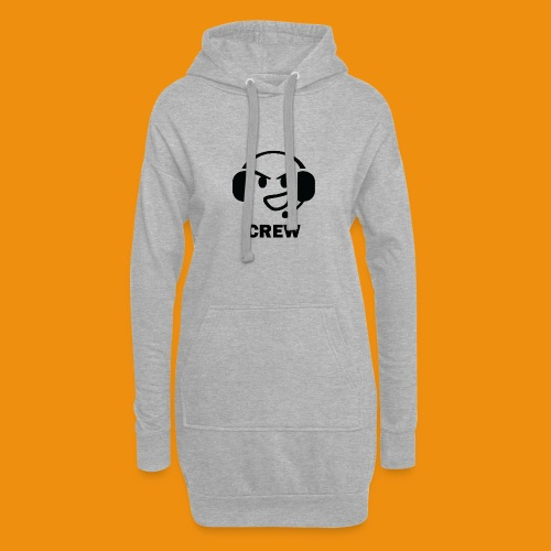 T-shirt-front - Hoodie-kjole